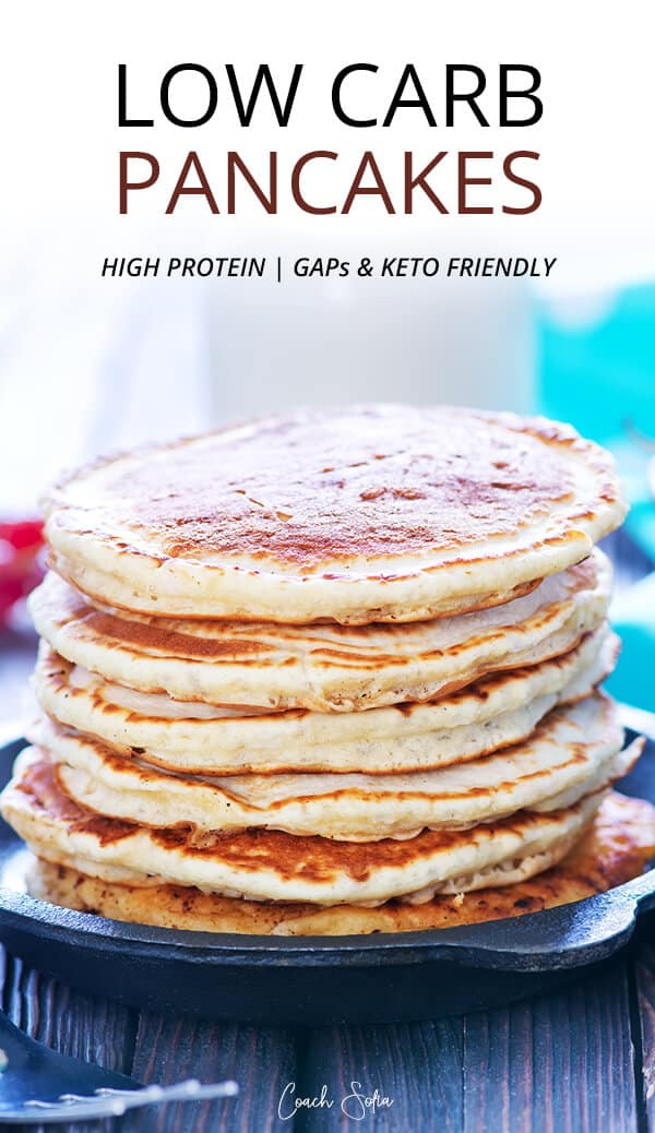 low carb no sugar pancakes