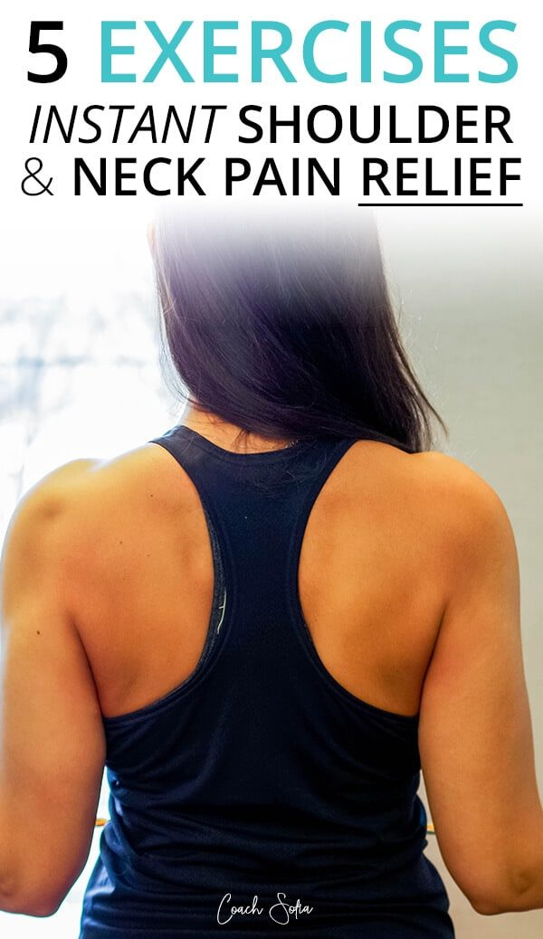 shoulder pain relief and neck pain relief exercises