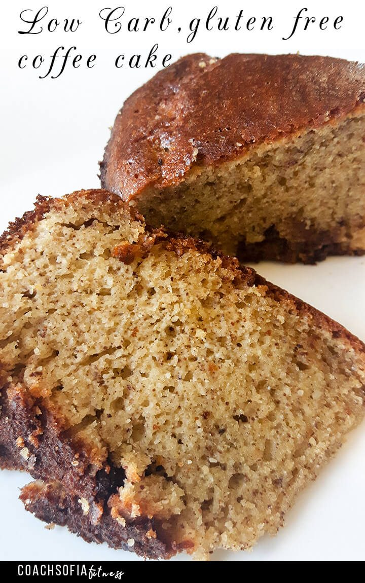 Coffee cake recipe - gluten free, paleo, grain free and low carb |GAPs certified