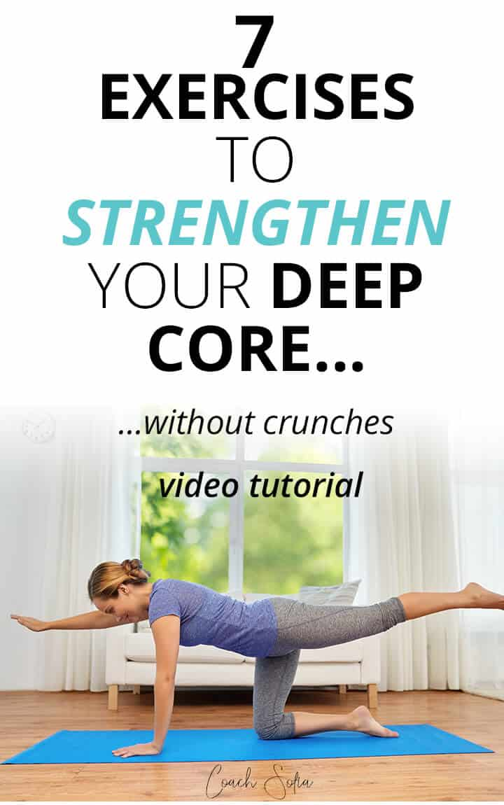 exercises to strengthen the core