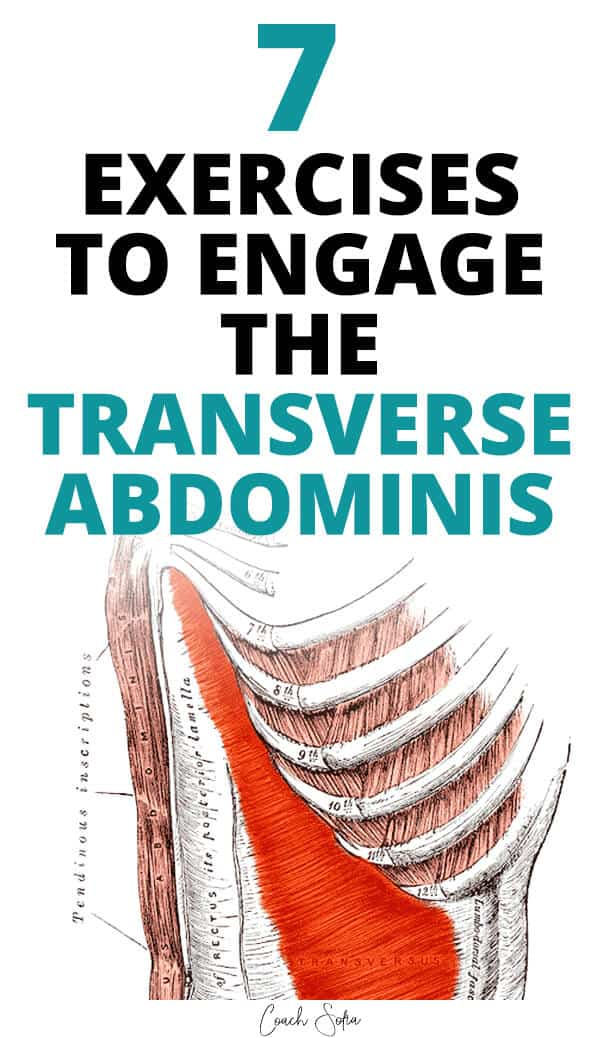how to engage a weak transverse abdominis