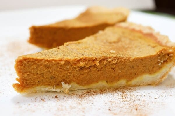 sugar-free healthy pumpkin pie