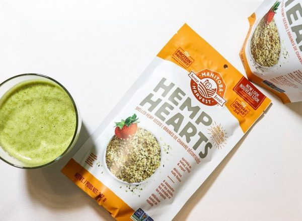 hemp protein green smoothie | healthy smoothies