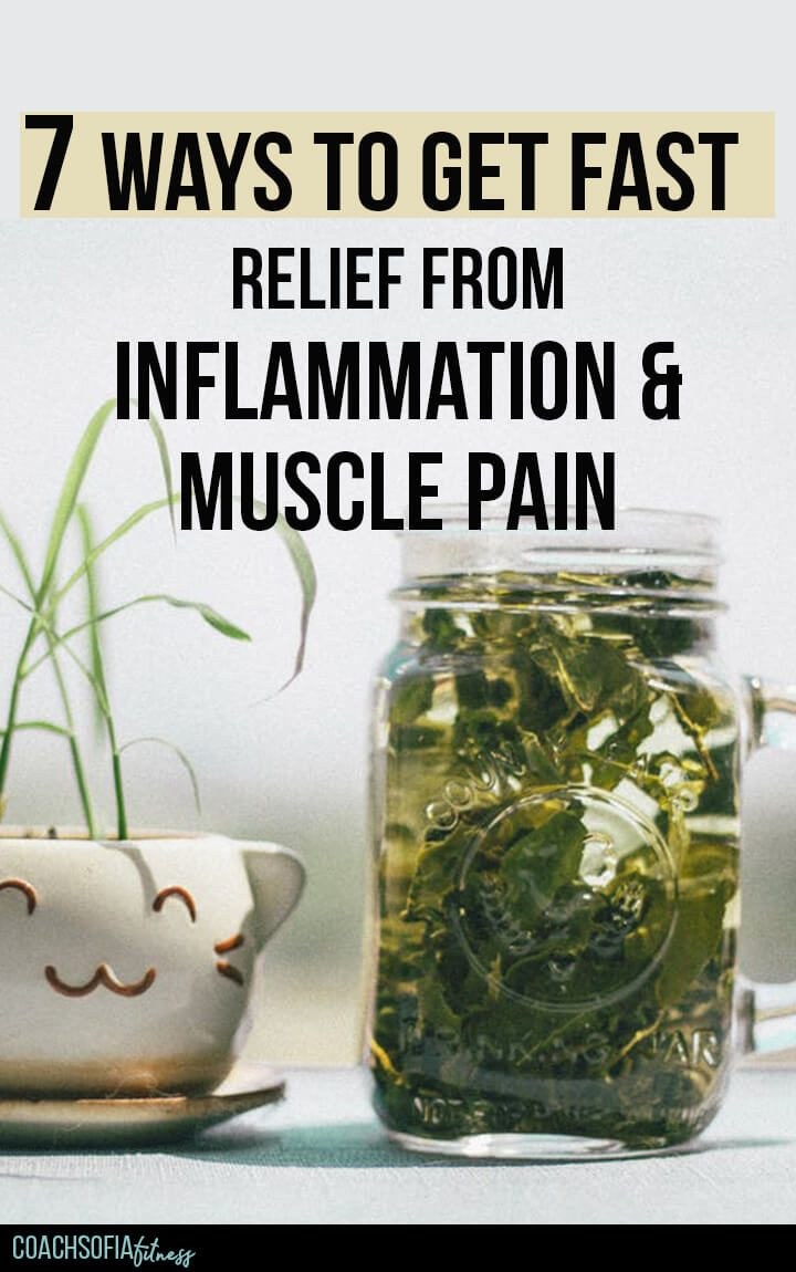get fast relief from inflammation and muscle pain, piriformis syndrome relief, and lower back pain relief