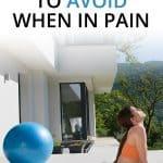 Piriformis syndrome exercises to avoid