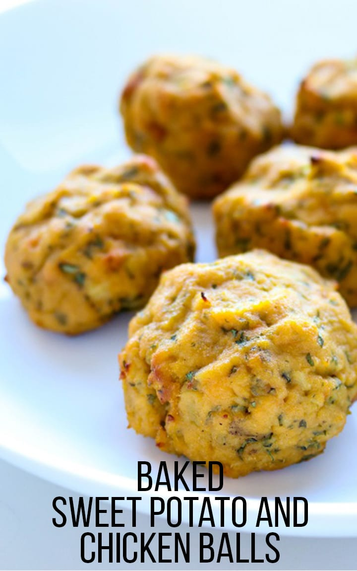sweet potato chicken balls recipe