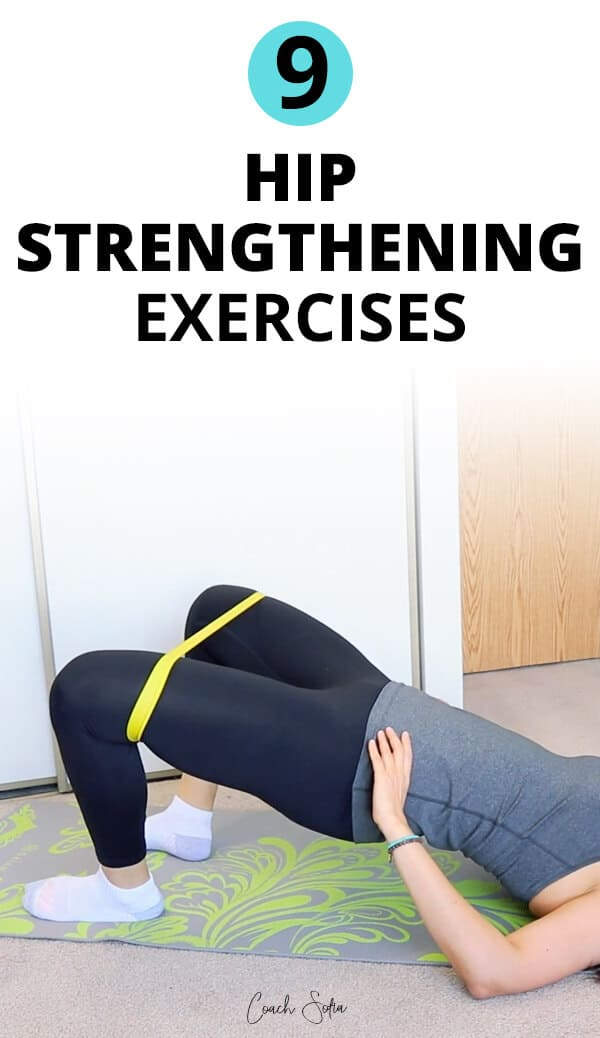 Hip and glute strengthening exercises