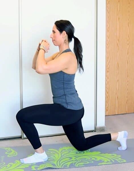 backward lunge