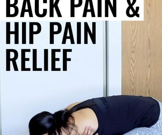 5 Stretches for Lower Back Pain and Hip Pain