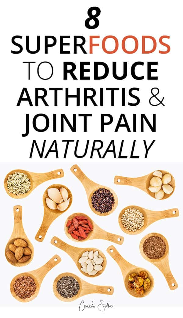 Natural supplements and superfoods for arthritis and joint pain