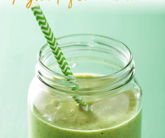 green banana turmeric smoothie to fight inflammation
