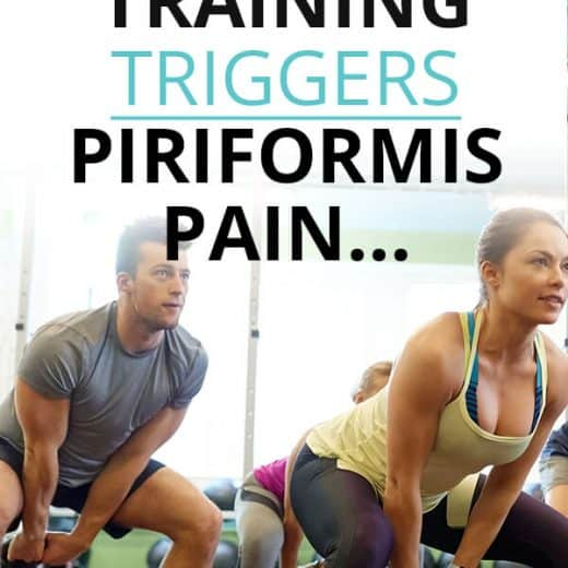 Piriformis pain and buttock pain after gym workout
