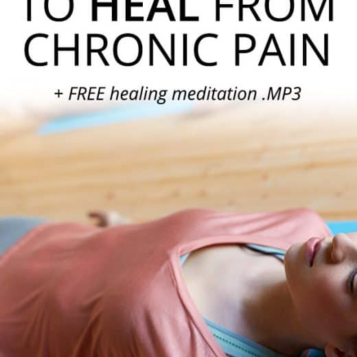 meditation for chronic pain healing